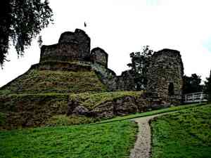Motte and Bailey Castle History