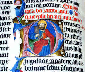 Medieval Religious Illuminated manuscripts