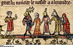 Medieval Mummers Outfits