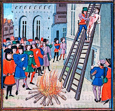 Medieval crime and Punishment - Hung Drawn and Quartered