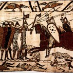 Medieval Housecarls Bayeux tapestry scene 52