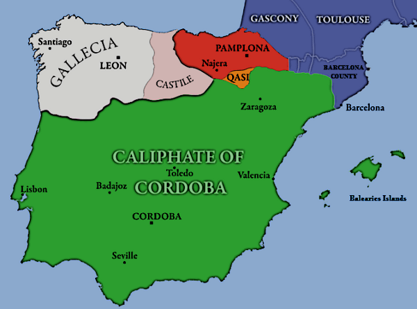 Conquest of Spain by the Moors